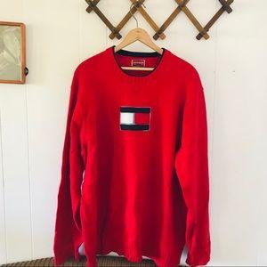 Vintage Tommy Hilfiger Cotton Crewneck Sweater